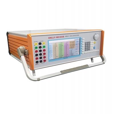 ONLLY-MC303D便携式三相电力标准功率源